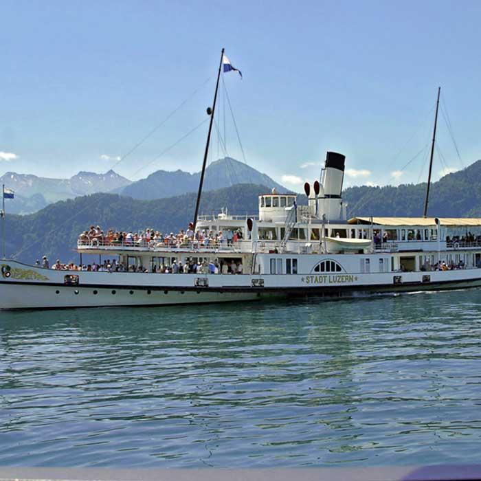 Seniorenausflug mit Stadt Luzern auf Vierwaldstättersee