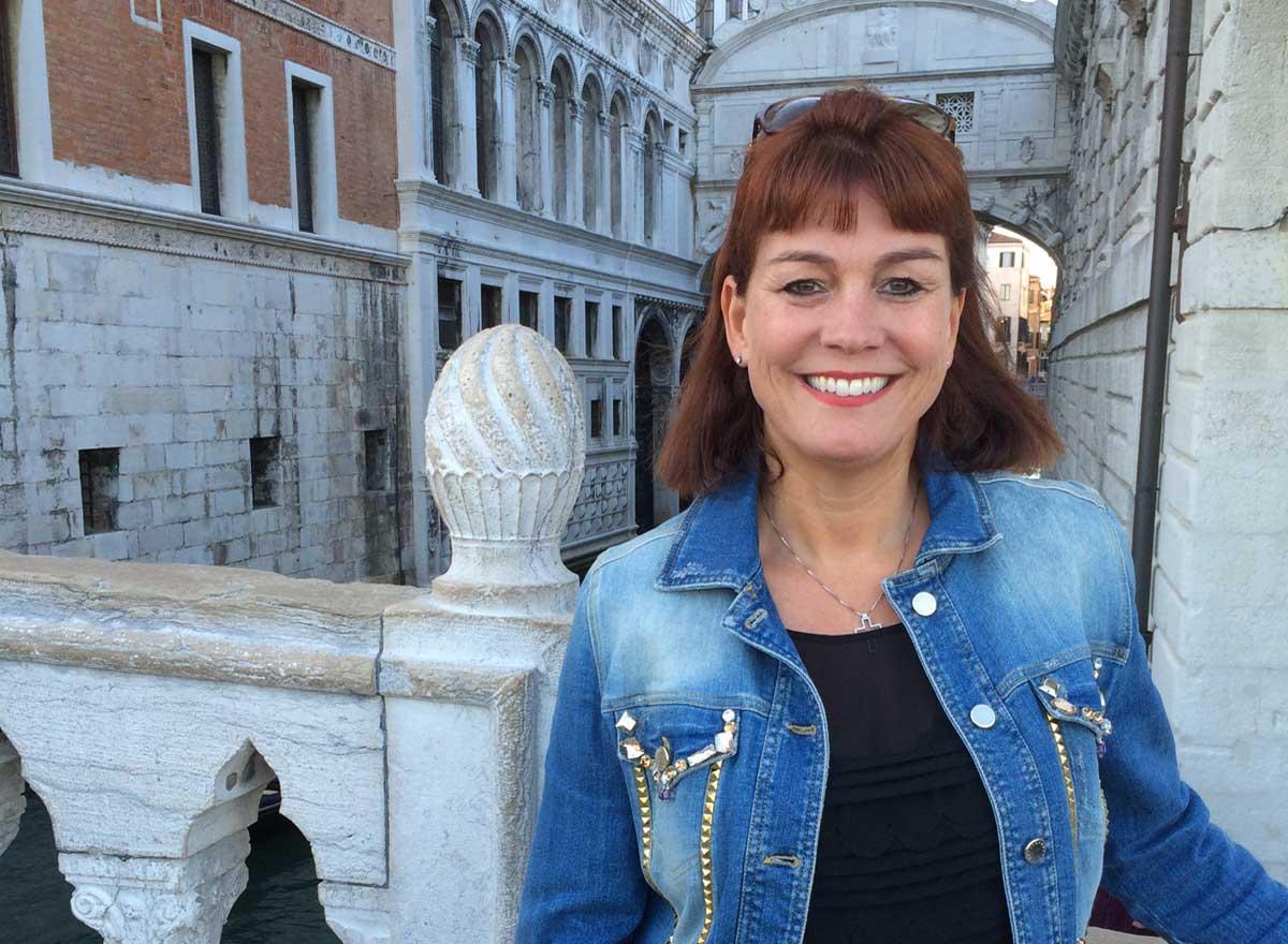 Seniorenbetreuerin Christine Thaddey