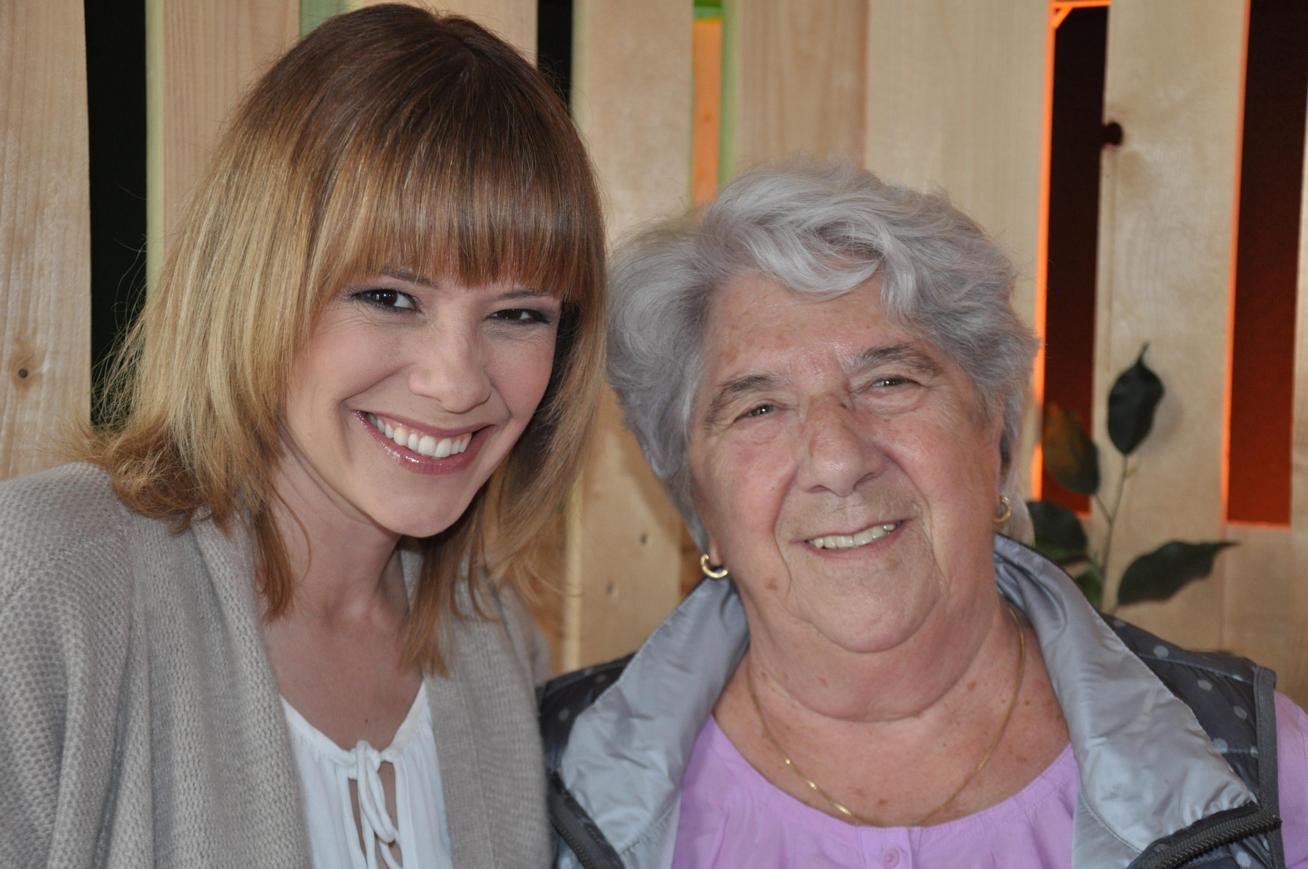 Senioren-Muttertag: Privates Fotoshooting mit Seniorin