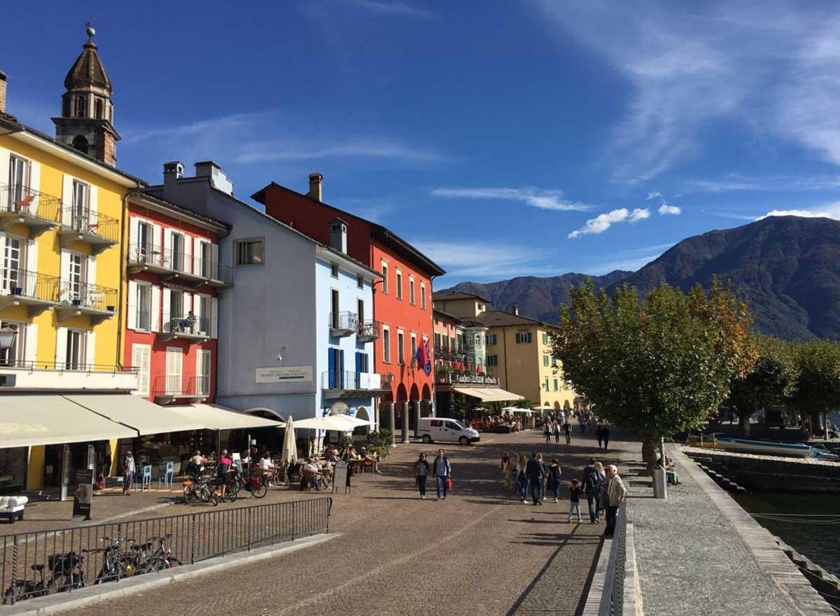 Persönlich Ausflug mit Senior nach Ascona.