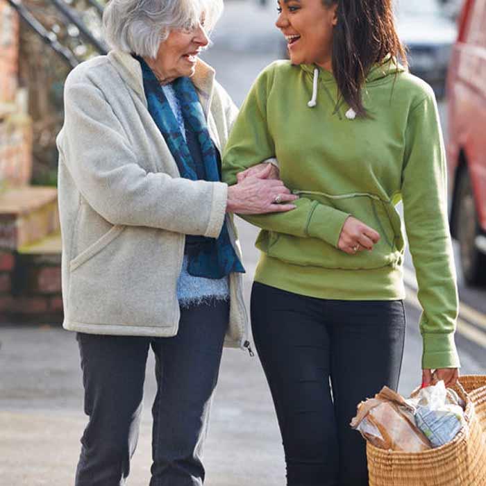 Geschenkgutschein Senioren Einkaufstag