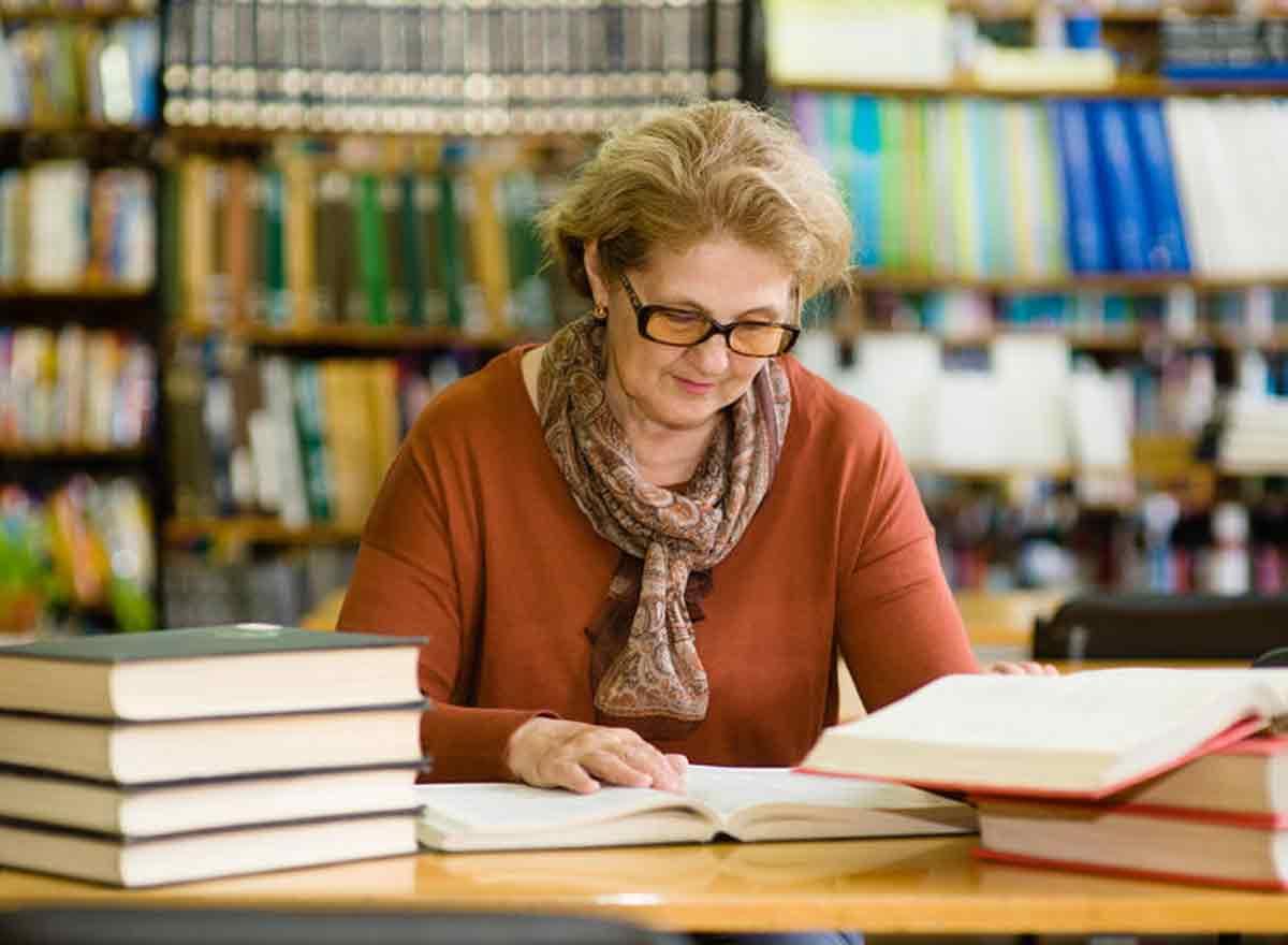 Lesen als Mediation für Senioren
